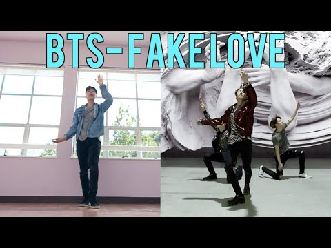 I Tried Learning BTS Fake Love Dance in less than 24 hours