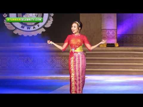 Myanmar Women's Fashion & Dressing Style Show 2013