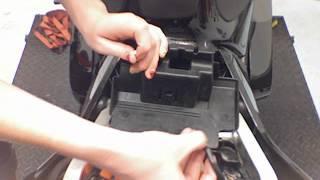 9. Alien Motion AM8 Battery Installation In Honda RC51