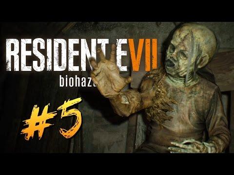 ЖУТКИЙ ДОМ МЕРТВЕЦОВ - Resident Evil 7 #5