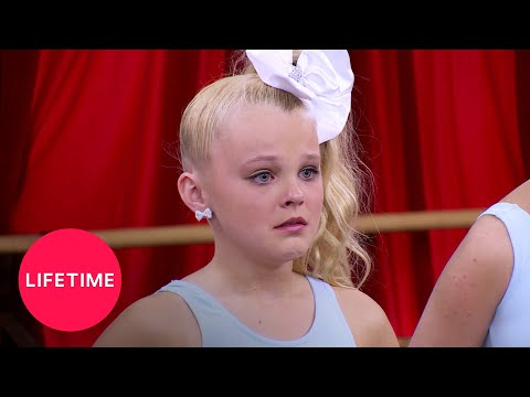 Dance Moms: Abby Kicks JoJo and Jess out of Pyramid (Season 5 Flashback)   Lifetime