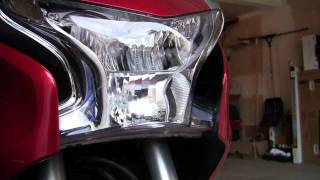 5. How to remove the fairings on the VFR1200F