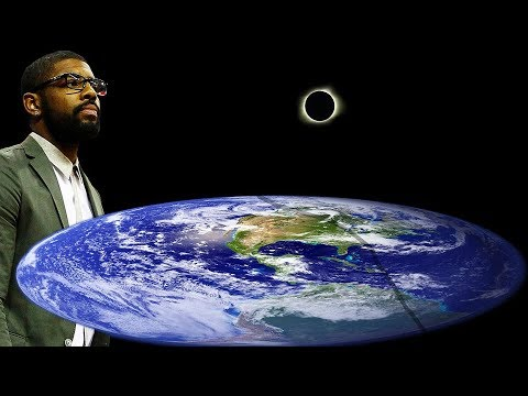 Kyrie Irving Watches the Solar Eclipse from the Flat Earth | Solar Eclipse 2017