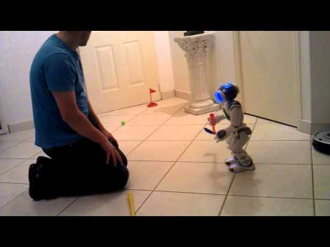 NAO Robot plays golf – Lesson 1