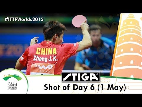 2015 World Championships Shot of Day 6 Presented by Stiga