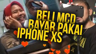 Video BELI MCD BAYARNYA PAKE iPHONE XS !! #SOCIALEXPERIMENT MP3, 3GP, MP4, WEBM, AVI, FLV Desember 2018