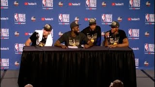 Video Kevin Durant | Klay Thompson | Draymond Green | Andre Iguodala | Game 4 NBA Finals Press Conference MP3, 3GP, MP4, WEBM, AVI, FLV Maret 2019