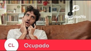 Ocupado - Pide a la Velocidad de tu Hambre - Campaña TV Chile