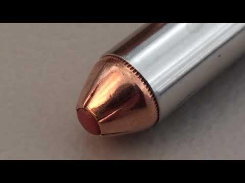 Hornady Critical Defense .40 S&W 165 gr FTX:  SIM-TEST* w/denim