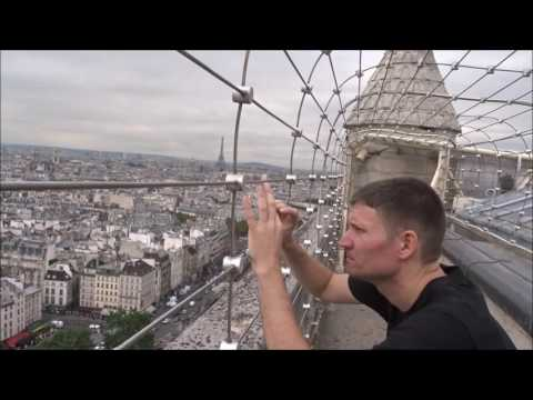 Notre Dame De Paris / Inside & Above The Cathedral - Paris