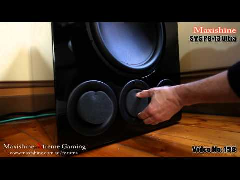 woofer - The SVS-PB-13 1000 RMS Subwoofer compares to other Subwoofers three times the Price. At $2499 it packs a Huge amount of controlled bass. It Weighs a massive ...