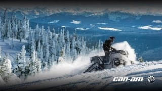 7. New Can-Am Apache Backcountry Track System for ATV