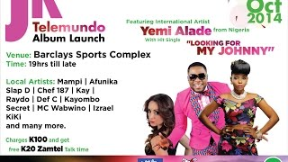Yemi Alade Coming To Zambia - JK Launch October