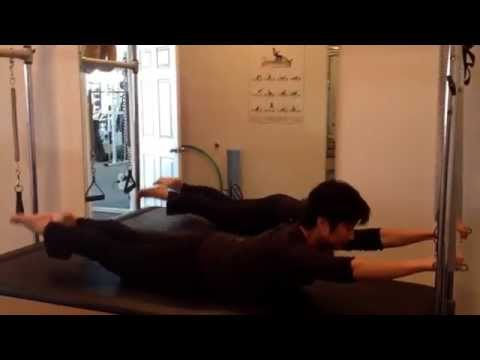 Swimming on the Cadillac – Pilates