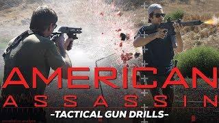 Dylan O'Brien Has Bad Ass Tactical Gun Skills
