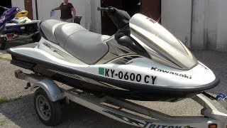 3. 2010 Kawasaki STX-15f jet ski walk-around video