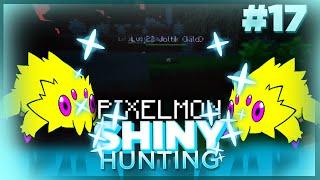 CRAZY LUCK! TWO SHINY JOLTIK! Live Reaction! Pixelmon Minecraft Shiny Pokemon! #17 by aDrive