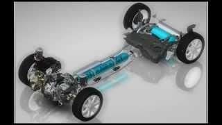 Componentele sistemului Hybrid Air de la PSA