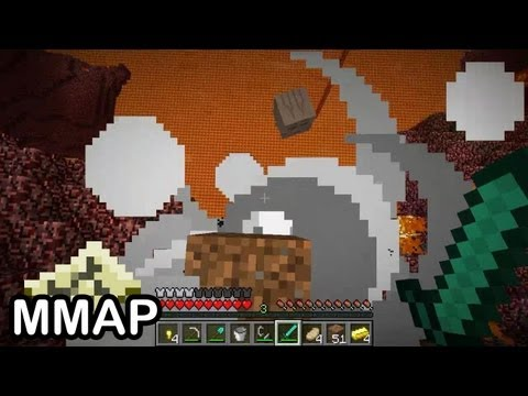 Minecraft: THE NETHER IS SCARY!!! (23)