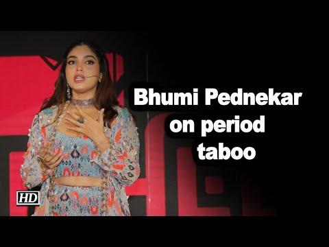 Bhumi Pednekar on period taboo