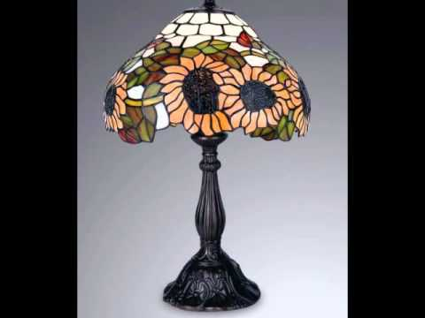 Buy Tiffany Style Real Stained Glass Table Lamp