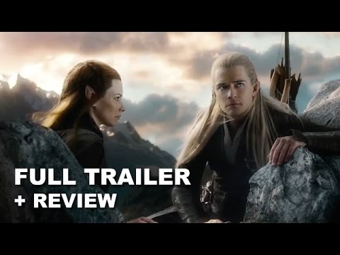 the hobbit - The Hobbit The Battle of the Five Armies debuts its official teaser trailer for 2014! Watch it today with a trailer review! http://bit.ly/subscribeBTT The Hobbit The Battle of the Five Armies...