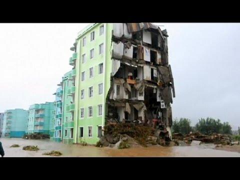 Β.Κορέα:Στο έλεος των πλημμυρών
