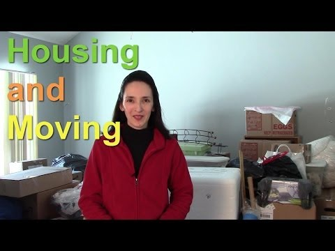 Housing And Moving - English Language Notes 11