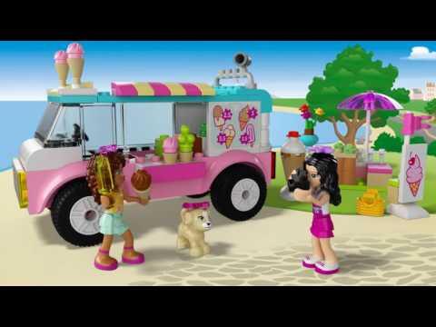Vidéo LEGO Juniors 10727 : La camionnette de glaces d'Emma