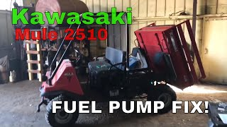 10. Kawasaki mule 2510 fuel pump issue AFFORDABLE FIT
