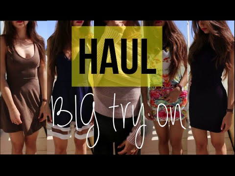 HAUL | BIG try on