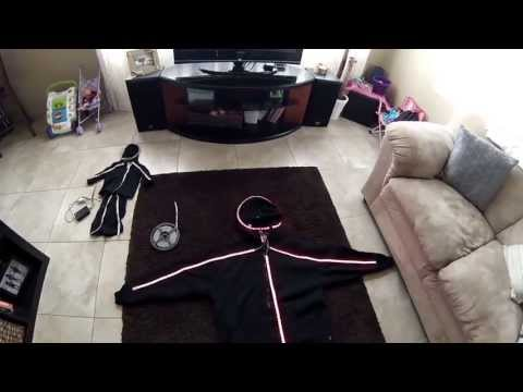 HOW-TO: LED light suit costume tutorial