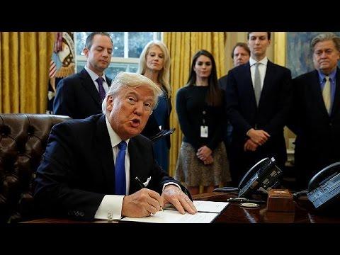 ΗΠΑ: Πράσινο φως από Τραμπ για την κατασκευή των αγωγών πετρελαίου Ντακότα και Keystone XL