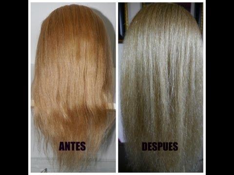 """Como pintar tu cabello de """"Rubio Dorado a Rubio Cenizo"""" (paso a paso)"""