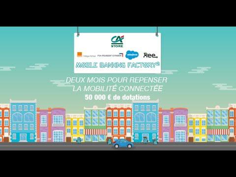 Broadcast live de la journée de lancement de la Mobile Banking Factory 2