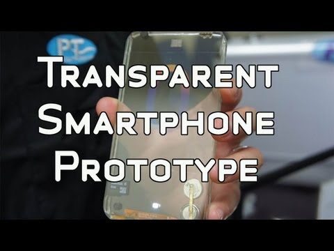 0 Polytron   Functional Transparent Smartphone Prototype Preview