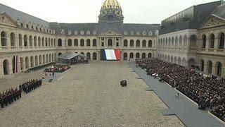 В Париже проходит церемония памяти жертв терактов 13 ноября