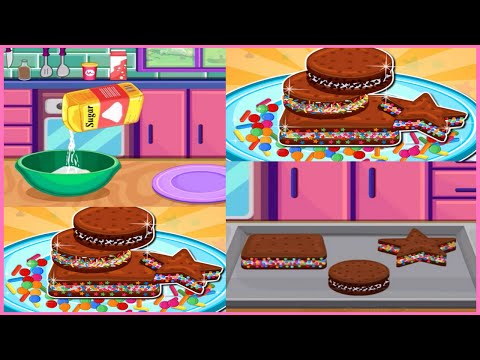 LEARN How To Make Ice Cream Sandwiches And Candy Game Movie Cooking Videos Online