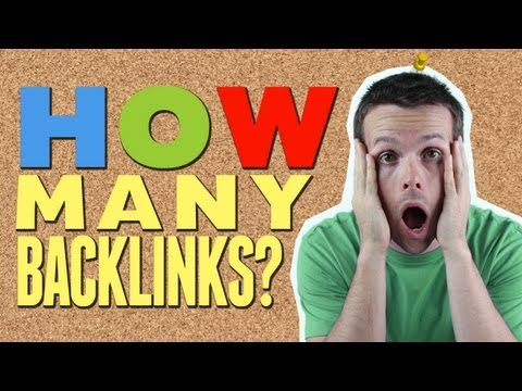 How Many BackLinks Will You Build To My Website? Common SEO Question.