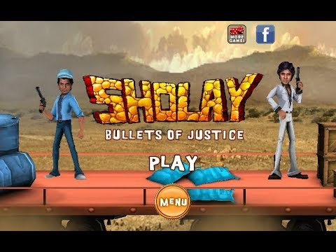 SHOLAY Bullet Of Justice Game | GAMES | HD GAMES | KIDS GAMES