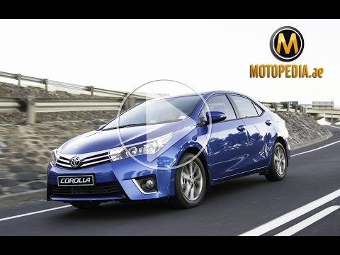 2014 Toyota Corolla review – تجربة تويوتا كورولا 2014 – Dubai UAE Car Review by Motopedia.ae