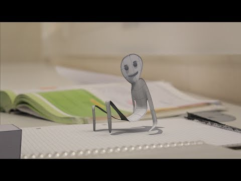 Living Paper - Blender Animation by Julius Burton