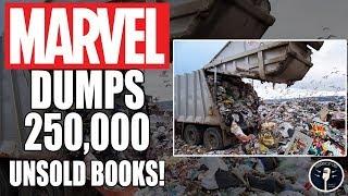 Video The Marvel Comics Landfill - 250,000 Unsold Books Discovered MP3, 3GP, MP4, WEBM, AVI, FLV Desember 2018