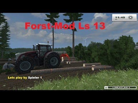 Lets play: Ls 13 Forst Mod | Massen Fällen und Holz rücken