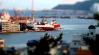 Busan Tilt-Shift Timelapse