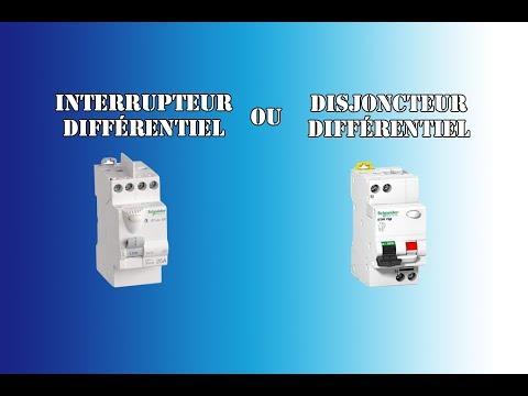 Interrupteur différentiel ou disjoncteur différentiel ? quel choisir ?