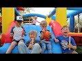 Cousins Bounce House Party