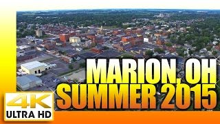 Marion (IN) United States  city photos : Marion Ohio by Air. Summer 2015 4K Ultra HD