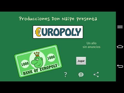 Vídeo de Europoly para Android