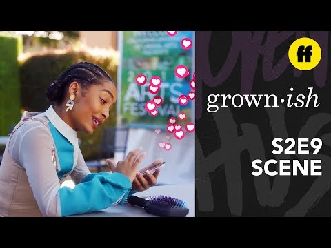 grown-ish Season 2, Episode 9 | Cyberstalking Gone Wrong | Freeform